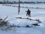 Паводок ещё впереди, а Морозкино уже затопило