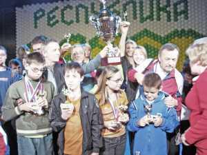 Золотой каскад юных легкоатлеток