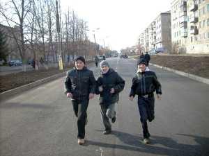 На улице Советской праздник