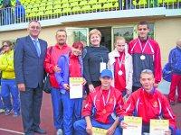 Троицкие легкоатлеты - сильнейшие в России