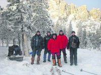 Спасателей «проверили» на зимние горы Таганая