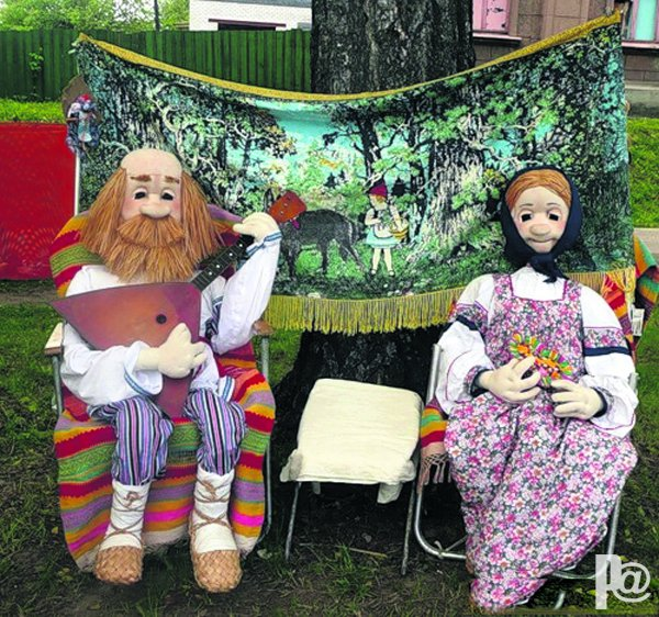 Куклы дед баба своими руками - Реклама мастер