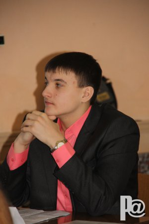 «Ученик года» Герман Азаров
