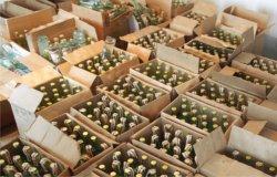 Полиция накрыла три склада с нелегальным алкоголем (видео)