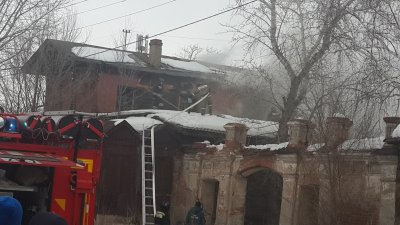 Пожарные тушили памятник истории