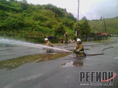 Команда ПЧ №236 Троицкого отряда ОГУ «Противопожарная служба Челябинской области» стала одной из лучших