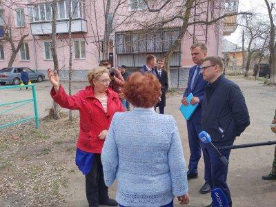Алексей Текслер проинспектировал Троицк