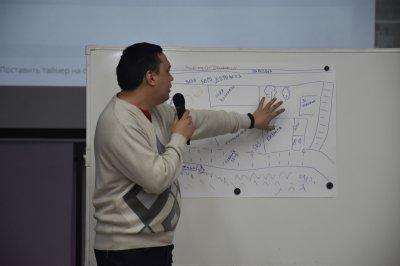 Обсудили благоустройство зоны отдыха в 5‑ом микрорайоне