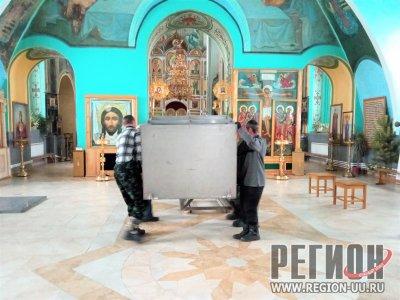 Подготовка к Крещенскому празднику