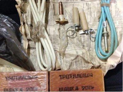 Взрывчатые вещества помогли обнаружить полицейские Костаная