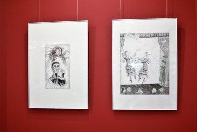 Скульптура, графика, живопись Назира Гайфуллина (ВИДЕО)