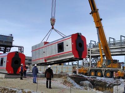 На Троицкой ГРЭС ПАО «ОГК-2» начался монтаж оборудования пуско-отопительной котельной