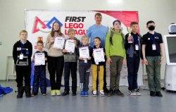 Троицкие LEGO-чемпионы