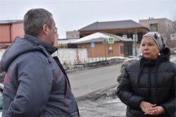 Исполняющий полномочия главы города Елена Василяускене провела объезд по городу