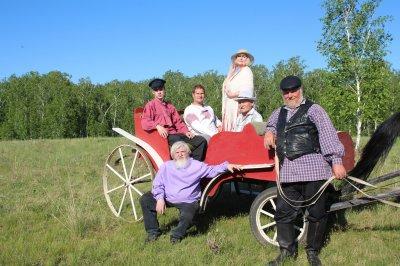 Троичане приняли участие в съемках фильма о Есенине