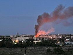 О пожаре на  Ловчикова сообщили соседи