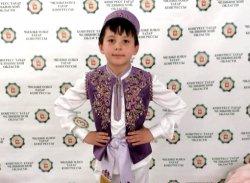 Маленький батыр Рашид Нажимов