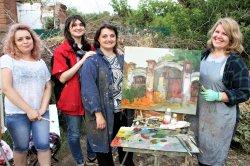 Остановить время: квартет художников на улицах Троицка