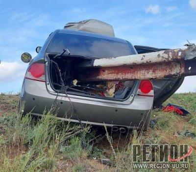 Отбойник убил водителя