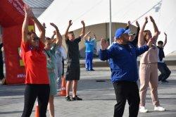 В Троицке отмечают День физкультурника