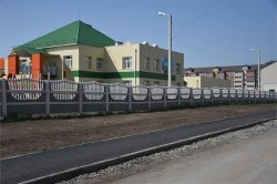 Завершены работы по устройству тротуара у детского сада №7