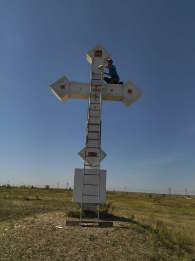Кресты-обереги привели в порядок