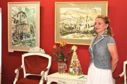 Цветы и признания художнику (ВИДЕО)