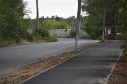 Завершены работы по устройству тротуара в 10 квартале