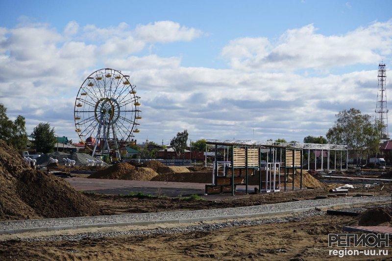 Реконструкция парка: последние новости