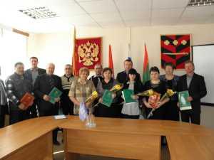 В Троицком районе наградили лучших работников ЖКХ