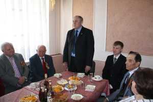 Ректорский прием ветеранов