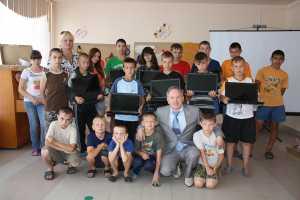 Ноутбуки — подарок от депутата